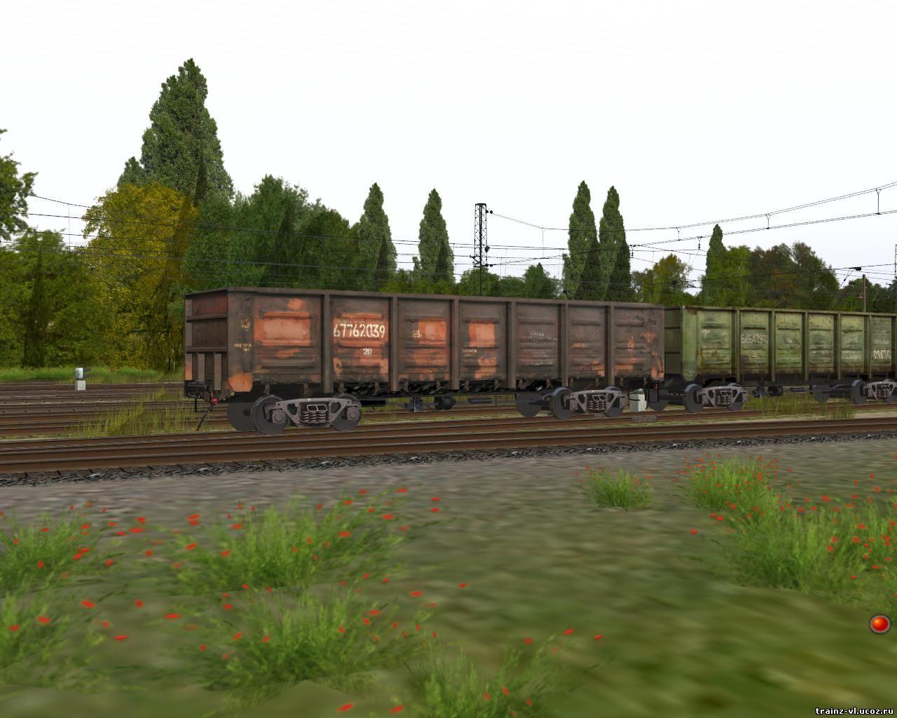 Вагоны Для Trainz 2012